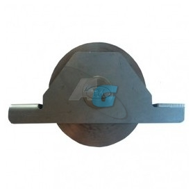 POLEA DE INOX DE 80 C/SOP AT INOX R20