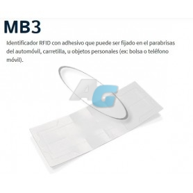 MB3: IDENTIFICADOR CON ADESIVO DE FIJACIÓN